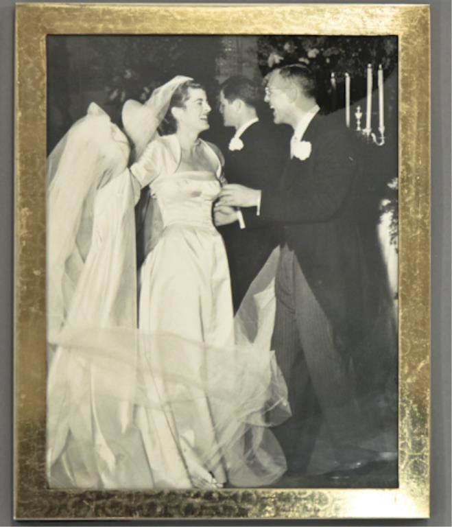 Lem Billings with Pat Kennedy at Wedding