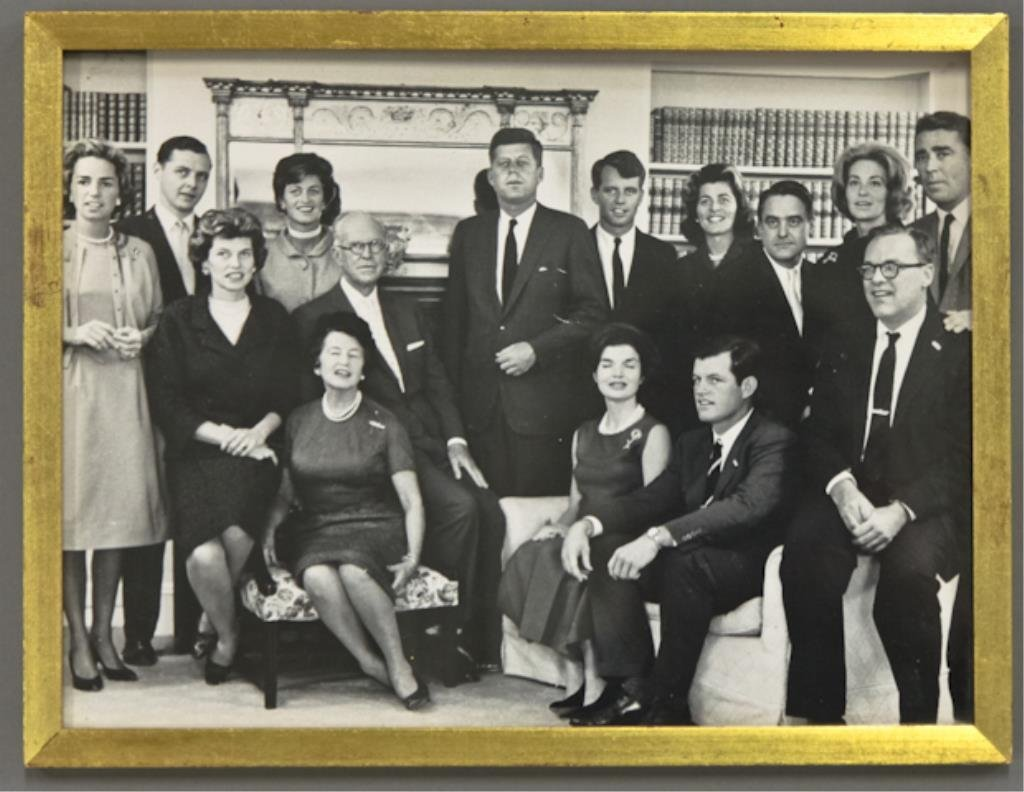 1st Kennedy Family Portrait as Pres-Elect