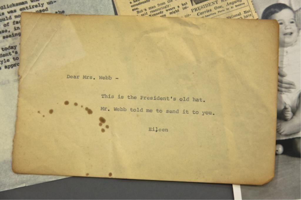 John F. Kennedy's Cavanagh Fedora - 2
