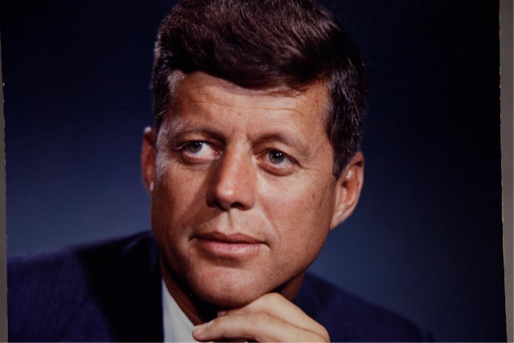 John F. Kennedy Dye Transfer Fabian Bachrach Portr - 2