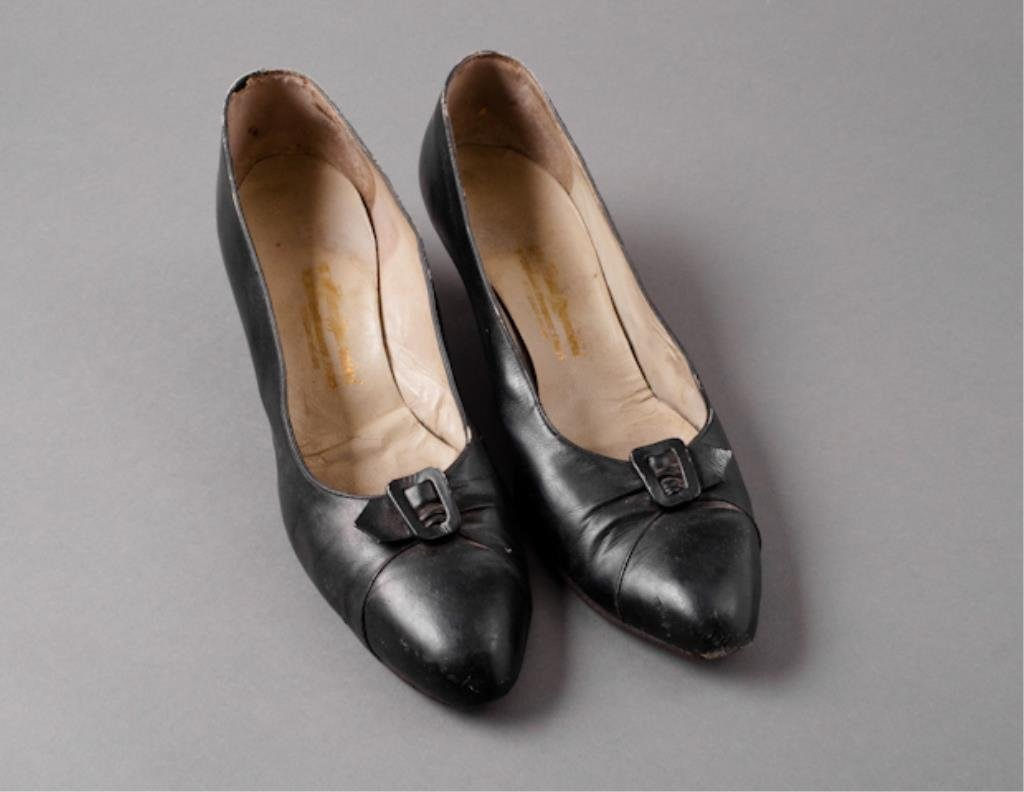Pair of Jackie Kennedy's Mancini Shoes