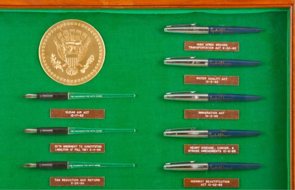 50 Pens Used to Sign Bills into Law 61-67 - 8