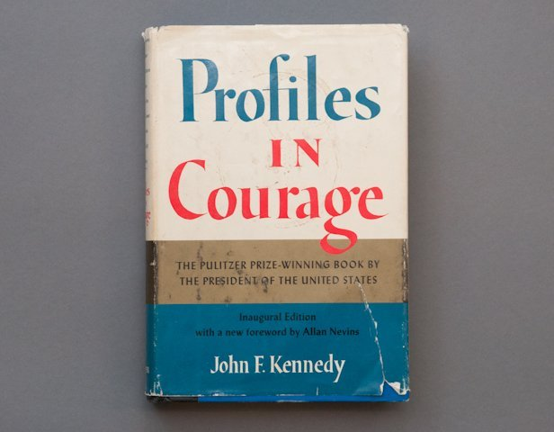 """""""Profiles in Courage"""" Signed JFK - 2"""