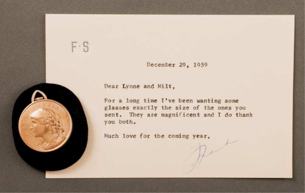 Pocket Watch Gift from Frank Sinatra