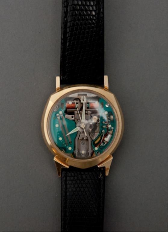 14k Gold 1961 Bulova Spaceview Watch