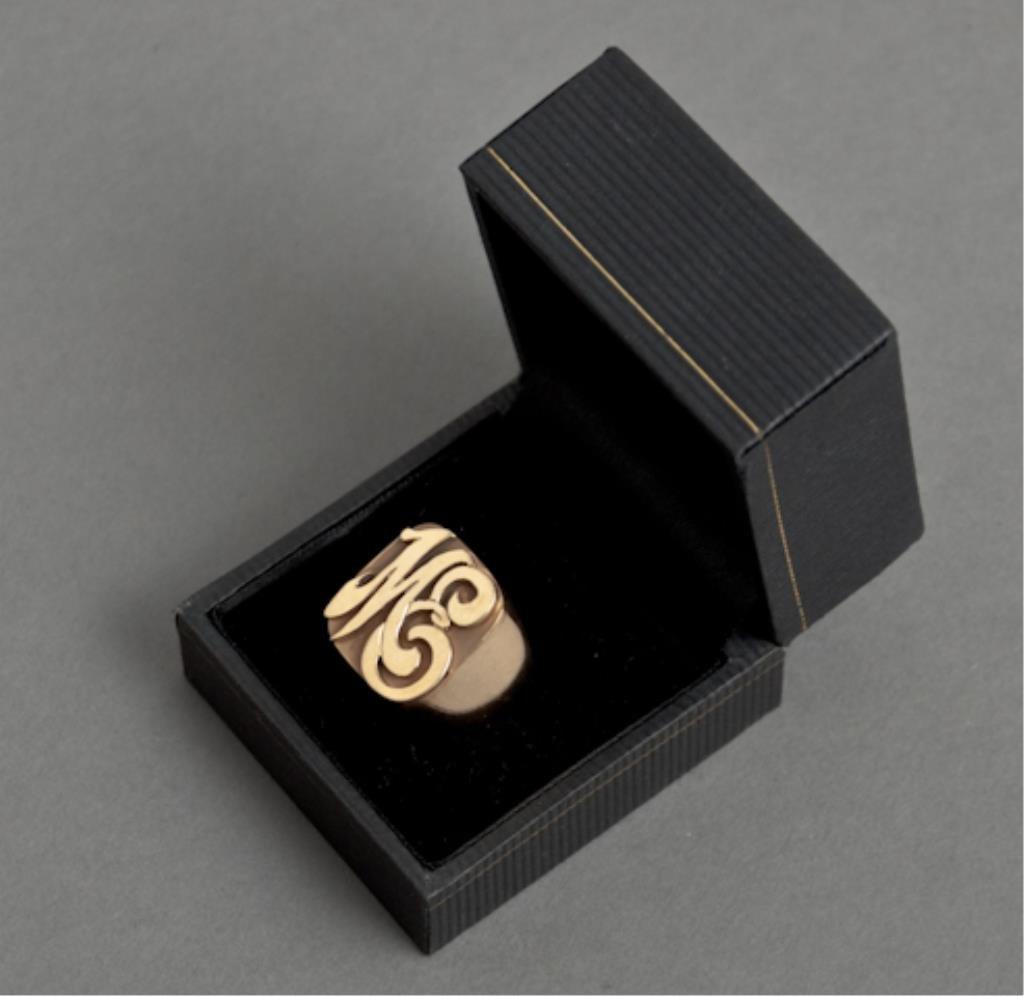 Milt Ebbins 14k Gold Ring