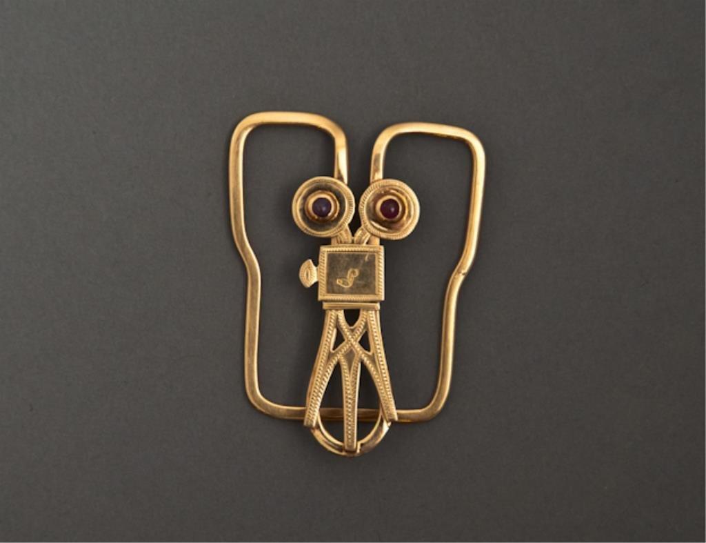 14k Gold Milt Ebbins Custom Money Clip
