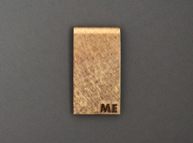 14k Gold Milt Ebbins Money Clip