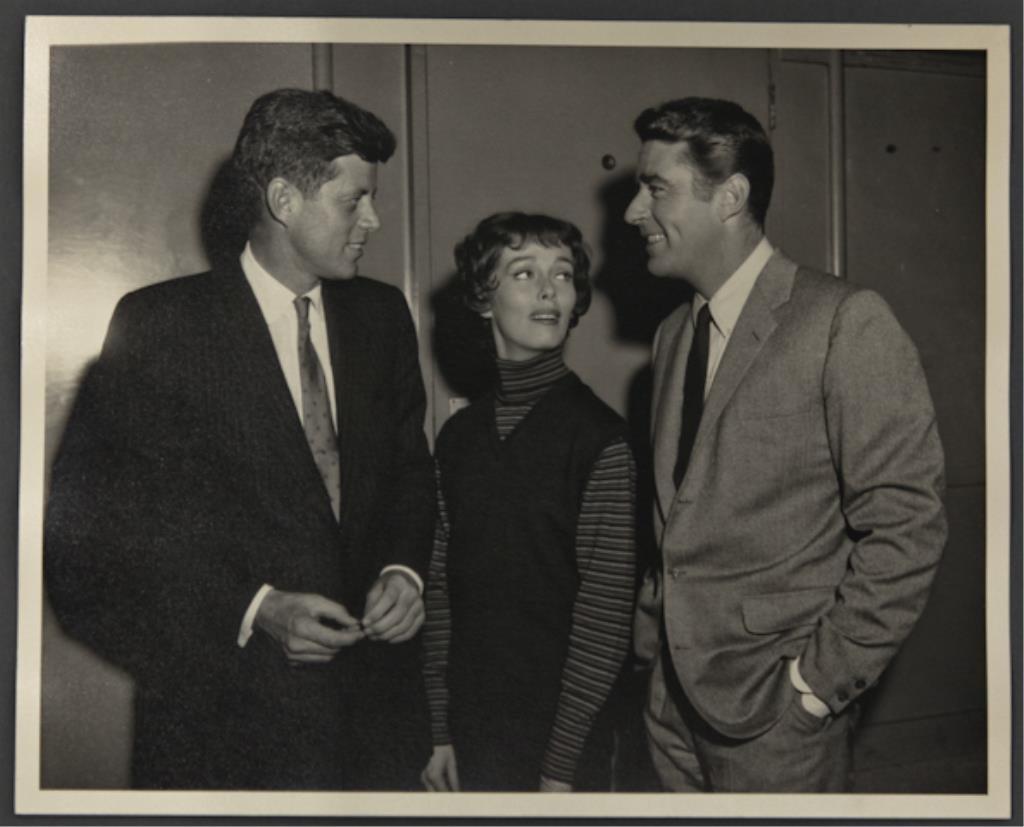 """The Thin Man"" John F. Kennedy and Phyllis Kirk"