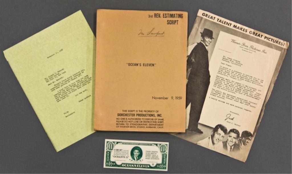 """""""Ocean's 11"""" Joe Kennedy Letter"""