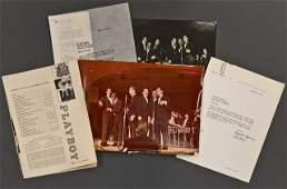 """""""Ocean's 11"""" Hugh Hefner Signed Letter"""