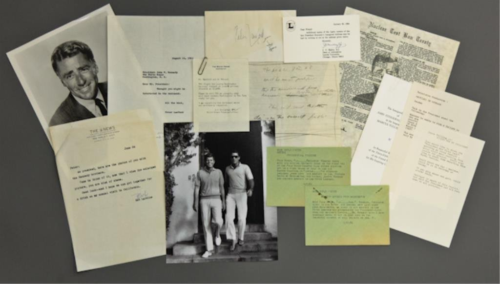 John F. Kennedy Handwritten Notes on Steel Crisis