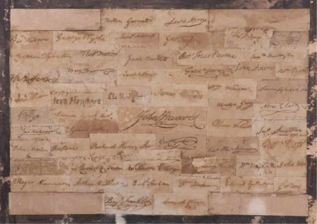Rare/Important  Declaration of Independence Signatures