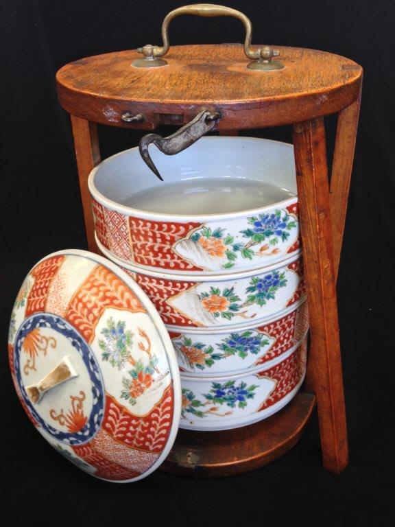 19th C. Asian Nesting Imari Dishes