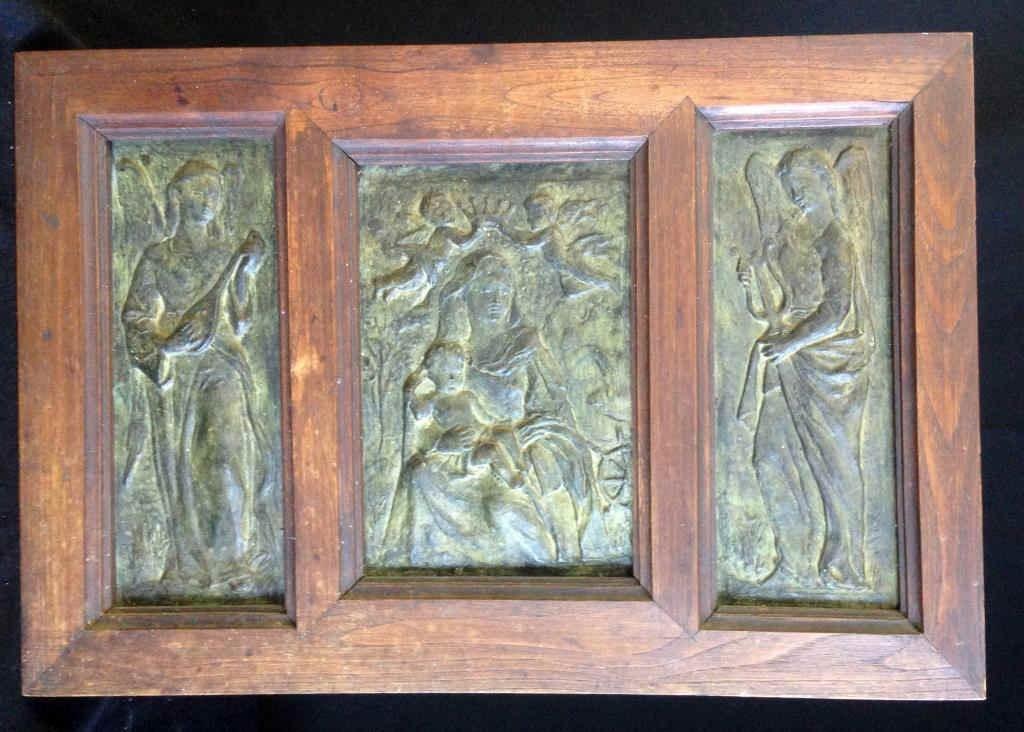 Bronze Relief Triptych