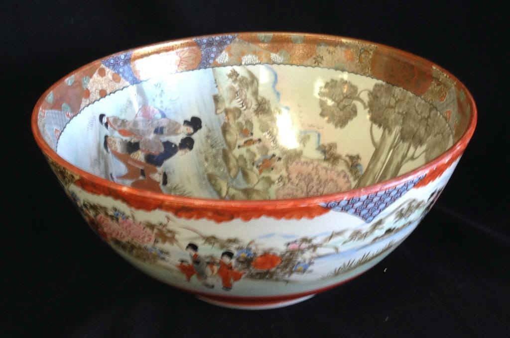 Late 19th C Japanese Satsuma Bowl
