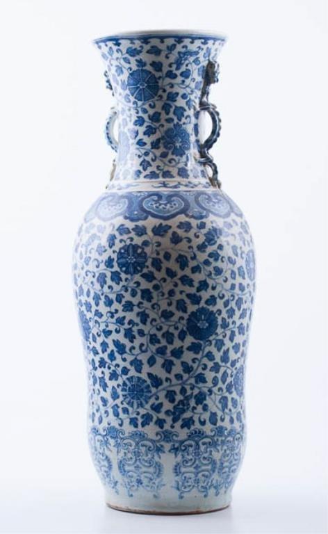 Monumental Chinese Porcelain Urn