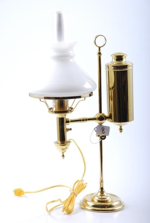 Cleveland Safety Library Lamp Pat. Nov. 18, 1871