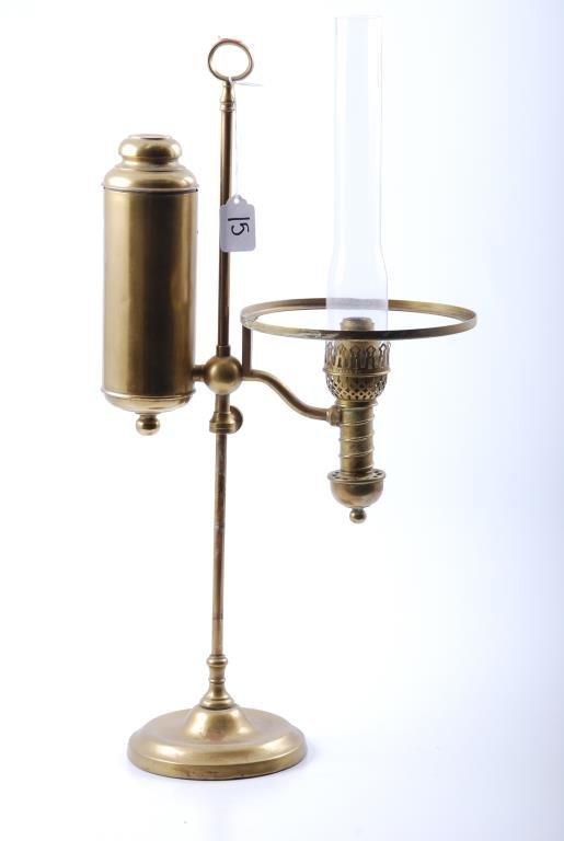 Manhattan Brass Co. Brass Student Lamp