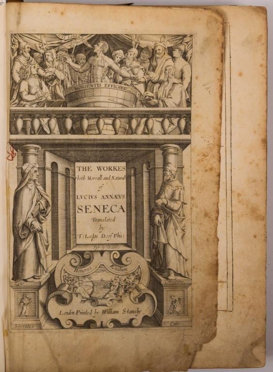 Works of Lucius Annaeus Seneca London 1614 - 5