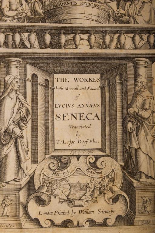 Works of Lucius Annaeus Seneca London 1614 - 6