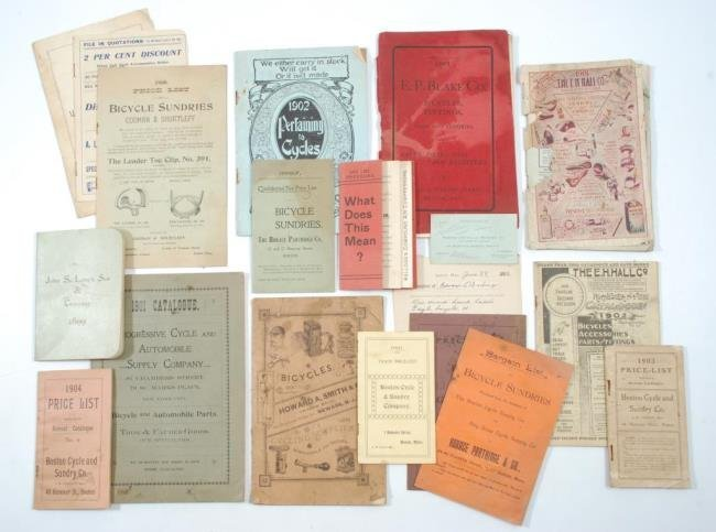 c1900 Bicycles &  Accessories Pamphlets/ Brochures - 10