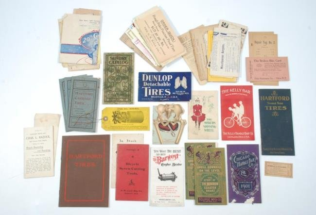 c1900 Bicycles &  Accessories Pamphlets/ Brochures