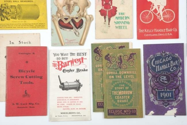 c1900 Bicycles &  Accessories Pamphlets/ Brochures - 6
