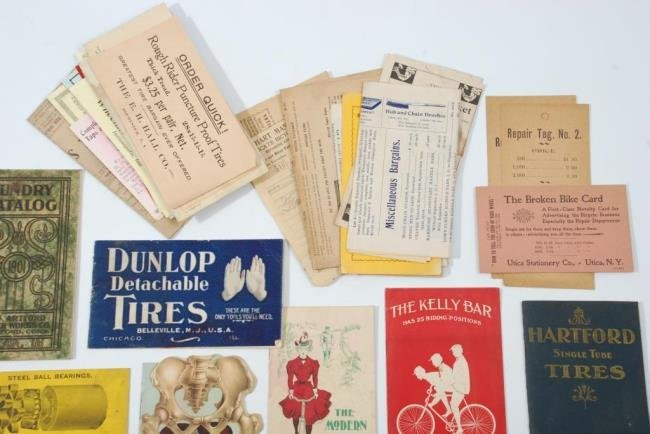 c1900 Bicycles &  Accessories Pamphlets/ Brochures - 7