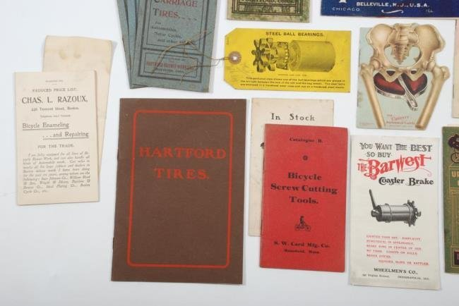 c1900 Bicycles &  Accessories Pamphlets/ Brochures - 9