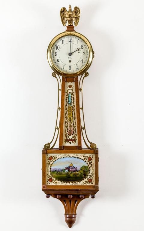 Chelsea Banjo Clock With Boston State House