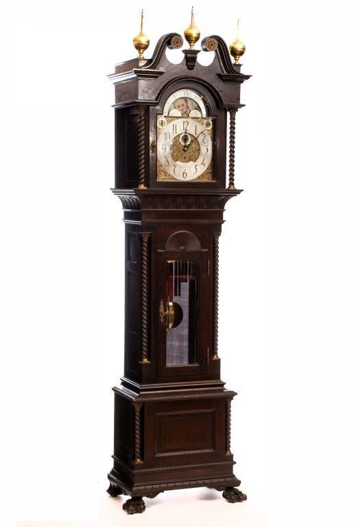 Walter Durfee Tubular Bell Chime Tall Clock
