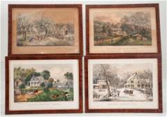 Currier  Ives American Homestead Lithographs