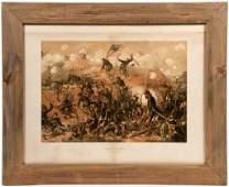 (10) Louis Prang Civil War Chromolithographs