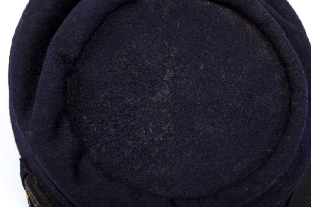Civil War Indigo Blue Wool Union Kepi Hat - 2