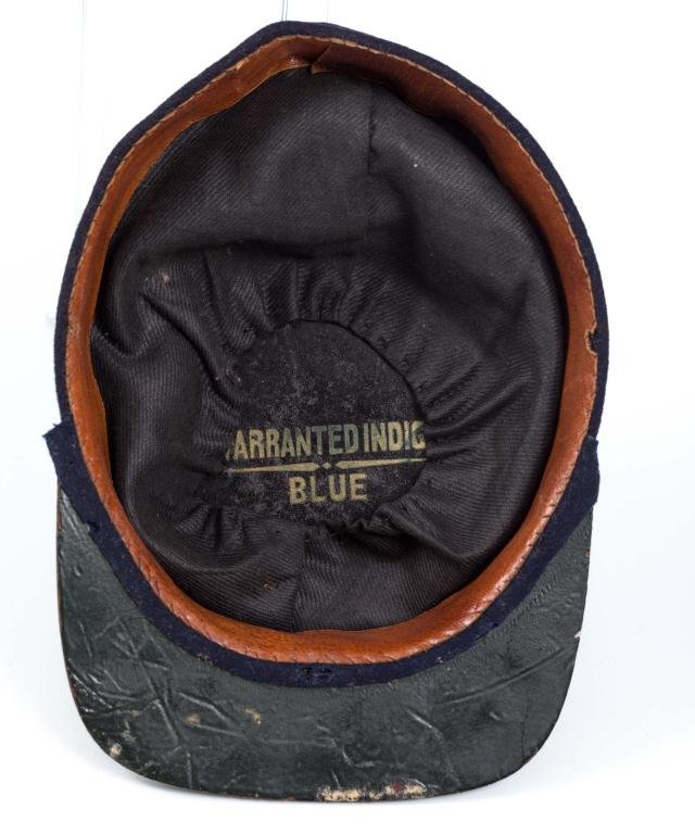 Civil War Indigo Blue Wool Union Kepi Hat - 3