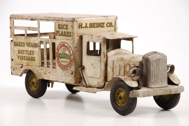 Toy Heinz Pickles Advertising Truck by Metalcraft - 10