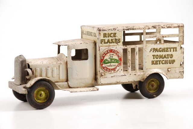 Toy Heinz Pickles Advertising Truck by Metalcraft