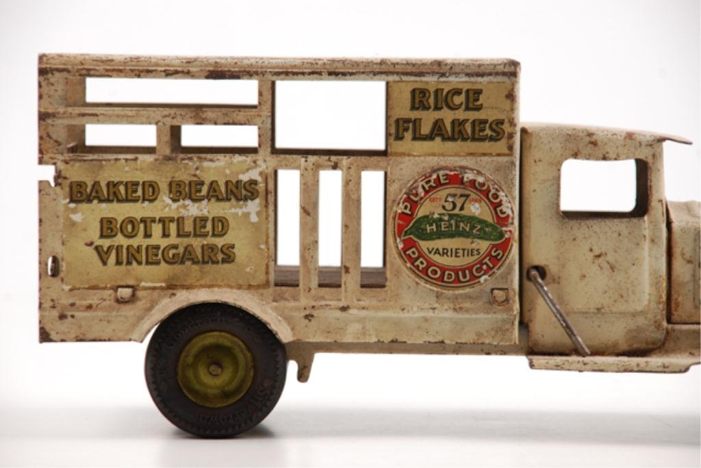 Toy Heinz Pickles Advertising Truck by Metalcraft - 3