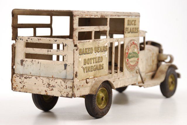Toy Heinz Pickles Advertising Truck by Metalcraft - 4