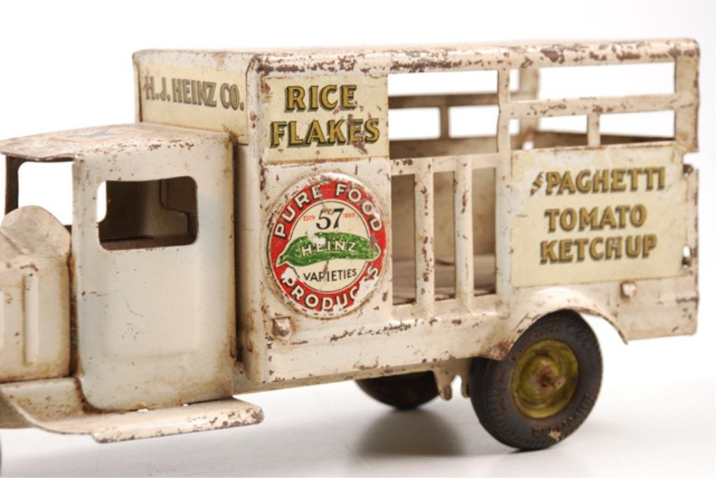 Toy Heinz Pickles Advertising Truck by Metalcraft - 8