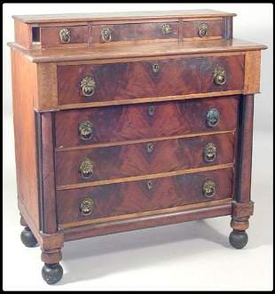 Boston Empire chest of drawers. Original condition,