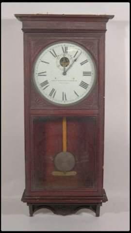 """The Self Winding Clock Co. NY"". Master slave elect"