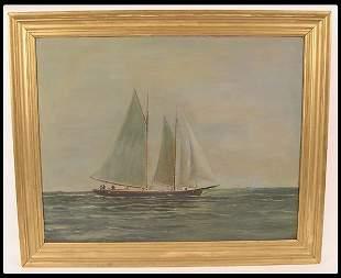 H. Brown American, 19/20th century oil on board se