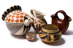 (5) Pieces of Southwest Indian Pottery