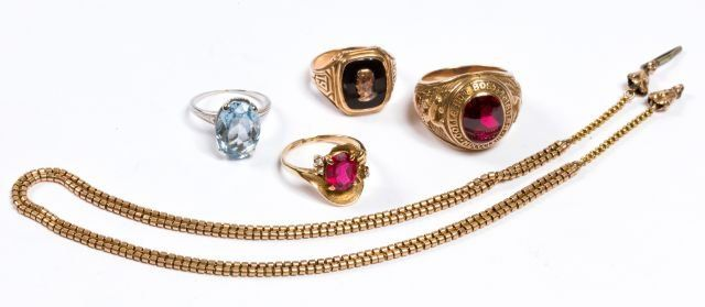 Group 10k Gold Jewelry