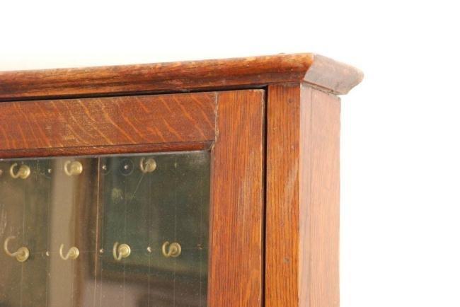 Oak Key Cabinet - 4