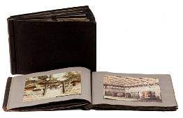 (2) Photo/ Postcard Albums of China, Japan Etc.