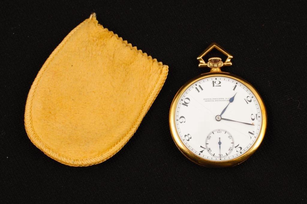 Patek Phillipe & Co 18K Pocket Watch