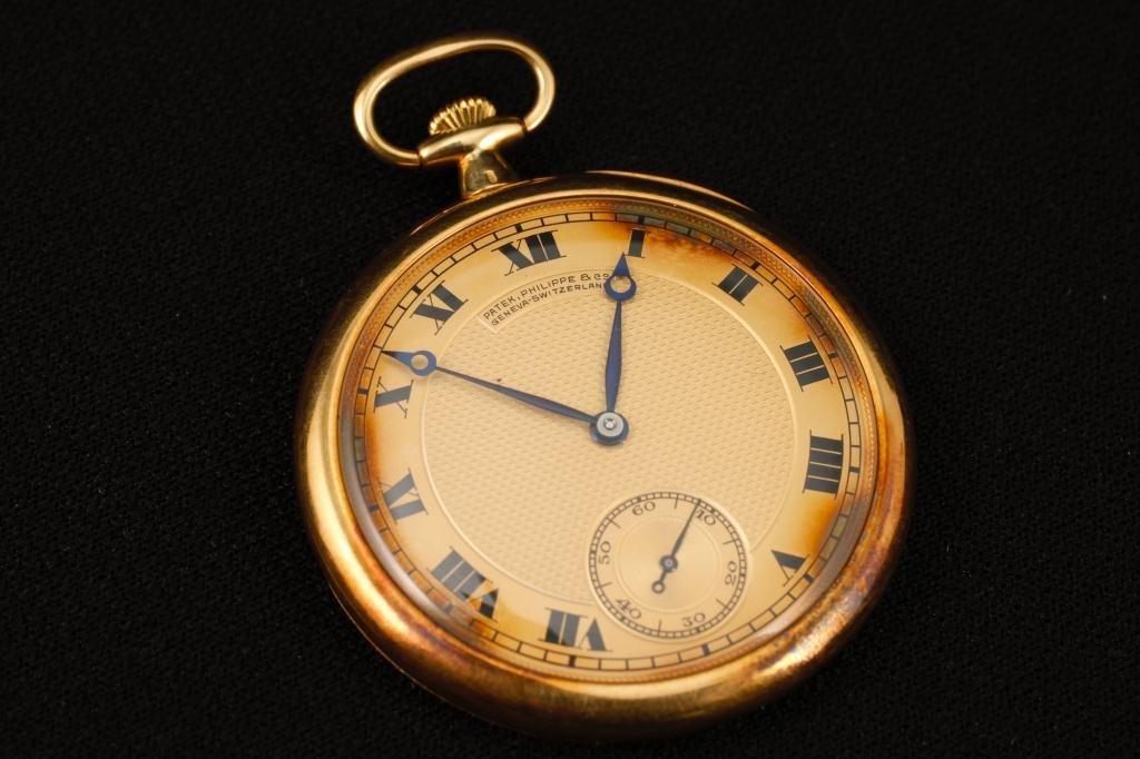 Patek Phillipe 18K Gold Watch